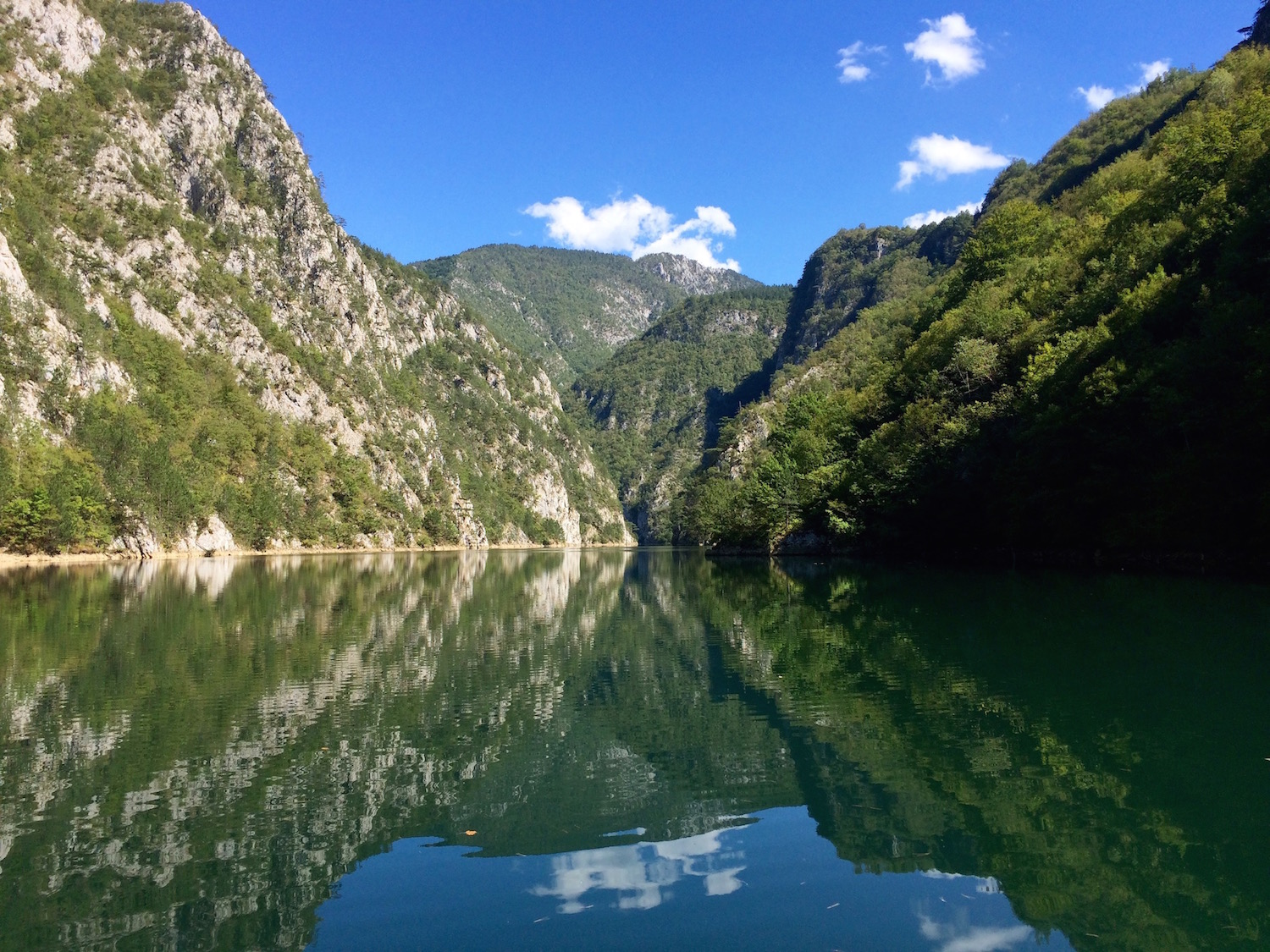60km through the Drina Canyon – marathon 11 'extra' with the Green Bears in Bosnia